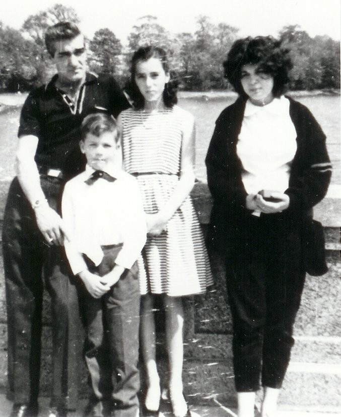 Dad, Rob,Me and Edwina
