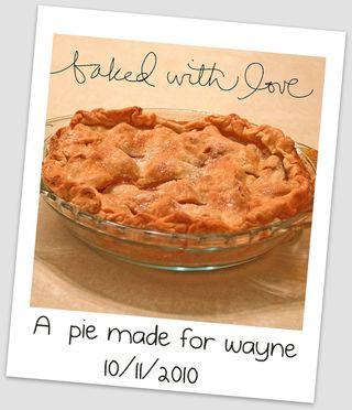 A Pie for Wayne