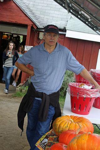 Wayne with apple basket full_800