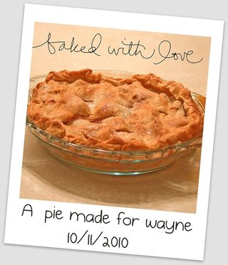 A Pie for Wayne