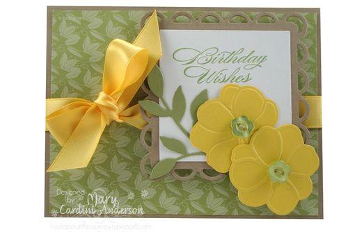 Birthday wishes yellow flowers_800