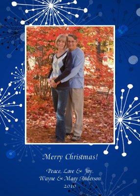 Our Christmas card