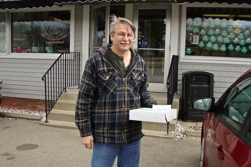 Wayne with his donuts-800