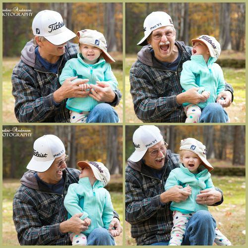 Papa and graceCollage