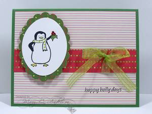 Penguin_in_green