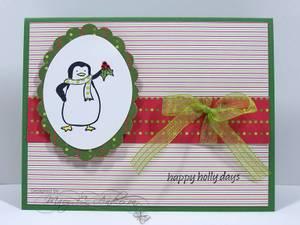 Penguin_in_green